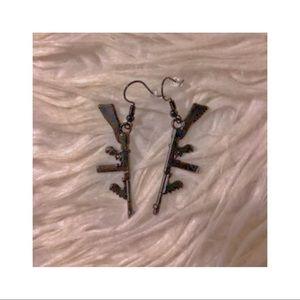 ♡ riffle earrings ♡
